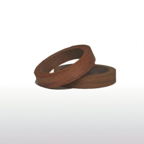 Rosewood edging tape <br/> 0.5 mm x 22 mm x 10m